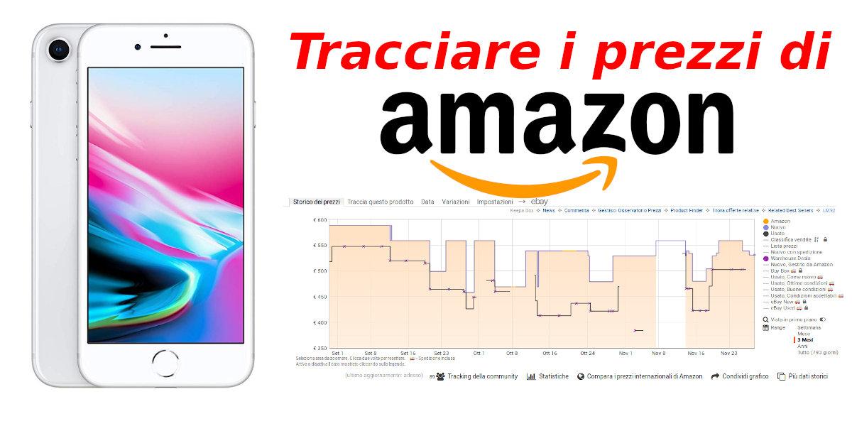 Tracciare i prezzi di Amazon usando Keepa